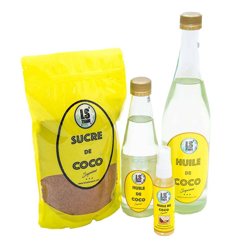 ls trade produits des antilles martinique guadeloupe sure de coco et huile de coco