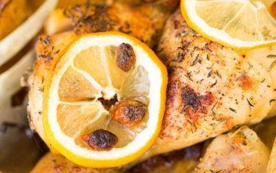 Recette de poulet sauté au citron et à l'huile de coco LS TRADE