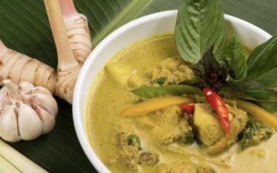 Recette du curry poulet citronnelle et lait de coco LS TRADE