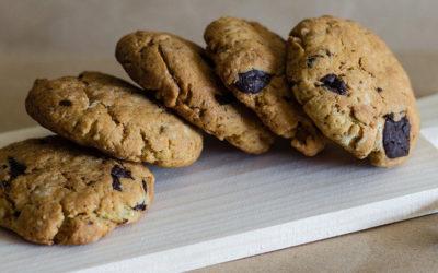 Recette de cookies coco aux pépites de chocolat et à l'huile de coco LS TRADE
