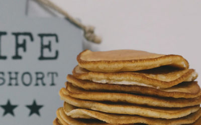 Recette de Pancakes au lait de coco LS TRADE sans gluten et sans lactose
