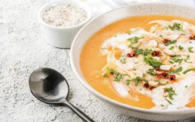 Recette de soupe express à la carotte, lait et huile de coco LS TRADE