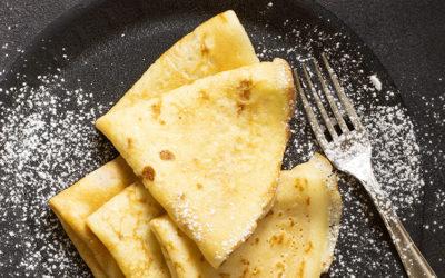 Recette de crêpes à la farine de patate douce sans gluten
