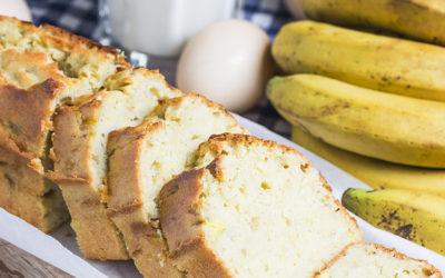Recette du gâteau yaourt banane à l'huile de coco LS TRADE